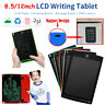 """8.5"""" 12"""" Digital LCD eWriter Tablet Pad Drawing Graphics Board Notepad w/ Magnet"""
