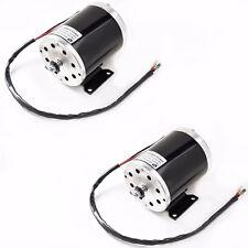 pair (2) two 500 W 36V DC17.8 A electric motor f scooter bike 1020 gokart ebike