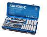 "Kincrome 54 Piece 3/8"" Drive Metric and Imperial Socket Set"