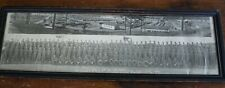 WWII FRAMED PANORAMIC PHOTO CO D 8TH BN  FT McCLELLAN ALABAMA 1942 SHOWS BASE
