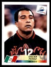 PANINI FRANCE 98 (Blue Back) - Mexique OSCAR PEREZ Nº 370