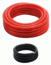 Stromkabel section 10 mm² Stromkabel 10 mm² Länge 6 m Massekabel 10 mm² Länge 1