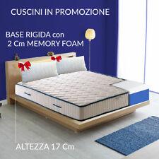 Materasso H17cm ortopedico anatomico in AirPur® e Memory EVA con cuscini PROMO