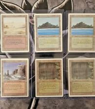 Magic The Gathering REVISED 3RD EDITION Booster Repacks Dual Lands MTG