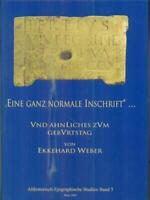 Eine Ganz Normal Inschrift Und Ahnliches Zum Geburtstag Weber Ekkehard
