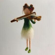 Fairy Gift Felting for Beginners Kit Christmas Art 15cm Height Video Description