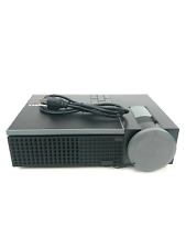 Dell Home Theater Front Projector Model 1510X DLP HD 1080p Black  #S2545