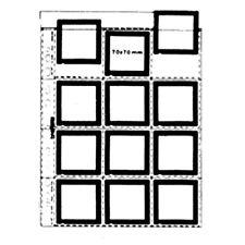 Matin 25 x Clear Sheet Slide 6X4.5 6X6 7X7 60mm 120 Mount Film Archival Storage