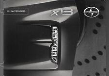 2013 13 Scion XB  Accessories  Sales brochure