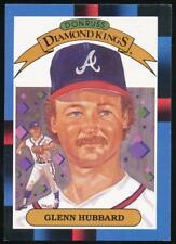 1988 Donruss Diamond Kings #22 Glenn Hubbard Atlanta Braves