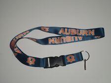 NCAA Brand New Lanyard Keychain Auburn Tigers ID Holder
