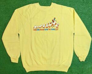 Vintage 1986 Jim Benton Monday Tuesday Wendesday.. Crewneck Sweater Size X-Large