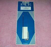 VINTAGE indoor base station CB radio receiver set ham amateur 10 meter antenna