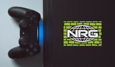 NRG Greenwall Gaming Decal - Sticker for laptop, PC, Xbox 360 or PS4