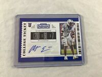 Mike Edwards 2019 Contenders Draft Picks Rookie Auto Card #299