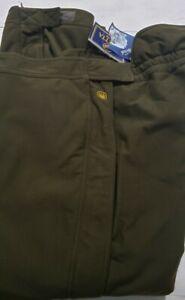 Vtg Beretta Mens Hunting Field Utility Insulated Pants Sz Xxl Gnnr Green...