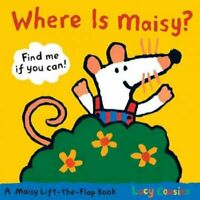 Where Is Maisy?, Hardcover by Cousins, Lucy, Brand New, Free shipping in the US