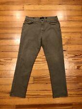 Lucky Brand 410 Athletic Slim Green Denim Jeans MENS 36 x 32 Medium Wash
