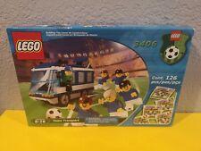 BL LEGO Sports 3406 Football Soccer Blue Team Transport (2000) NEW in Sealed Box