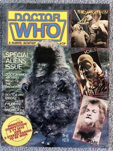 DOCTOR WHO Comic # 57 - October 1981. British Marvel Monthly