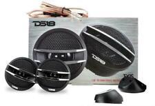 """Ds18 Tx1S 1-3/8"""" Car Audio Tweeters Built in Crossovers 400 Watt Ferrite Pair"""