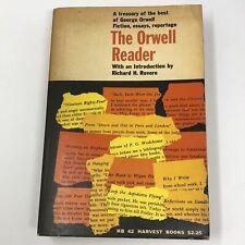Vtg 1956 The Orwell Reader, George Orwell Paperback