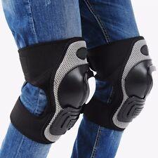 Adults Knee Pad Shin Armor Guard Motocross Racing Motorcycle Bike Protector Gear