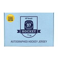 2019/20 HIT PARADE AUTOGRAPHED OFFICIALLY LICENSED HOCKEY JERSEY BOX - SERIES 3