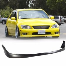 Fit For 01-05 Lexus IS300 Sedan 4Dr J-Style Front Bumper Lip PU