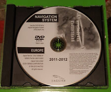 2012 Jaguar   S X XJ XJR type navigation sat nav  disc map update DVD  UK&WEST