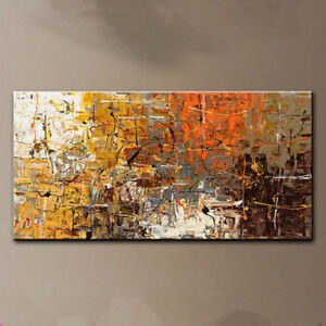 VV099 Large Modern Wall Decor Abstract art oil painting Hand-painted On canvas