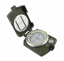 Pocket Military Army Geology Metal Compass for Outdoor Hiking Camping Adventure