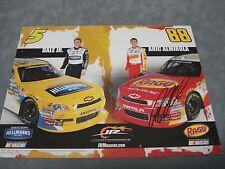 AUTHENTIC NASCAR #88 **ARIC ALMIROLA** RAGU AUTOGRAPHED 8X10 PHOTO COA