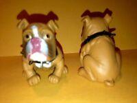 "HOOD HOUND PUPPIES - ""BULL DOG PUPPY"" FIGURE BULLDOG 1 5/8"" TALL"