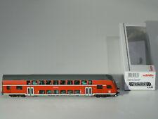 Märklin H0 43586, Doppelstock - Steuerwagen 2. Klasse DB, rot, neu, OVP