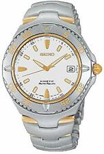 SEIKO MEN KINETIC AUTO RELAY TWO TONE SMA114 Watch