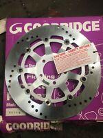 NEW GENUINE GOODRIDGE FRONT BRAKE DISC RIGHT SUZUKI GSXR GSXR750 STS007L