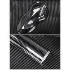 Adesivo per auto in fibra di carbonio con pellicola nera in fibra di carbonio