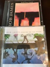 """bob james lot of two """"Dancing on the Water"""" and """"Grand Piano Canyon"""
