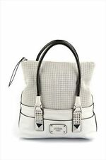 NWT Women Handbag GUESS Rock Geo Dream Satchel - white