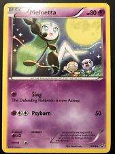 Carte Pokemon MELOETTA BW68 PROMO RARE ENGLISH