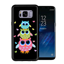 3 Owls For Samsung Galaxy S8 2017 Case Cover by Atomic Market