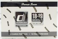 2018/19 PANINI DONRUSS SOCCER 12-PACK JUMBO BOX