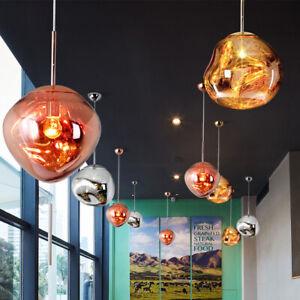 Glass Ball PVC Lava Chandelier Melt Light Pendant Lamp Ceiling Lighting New