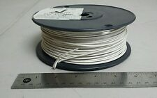 ( 508 FT ) M27500-20SP1G23 20Awg White Shielded Cable Wire 2/C 19S/32Awg 600V