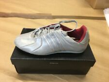 Adidas Mijrk Dancing Shoes Ballerina Ladies Size 36 2/3 Leather Silver 017158