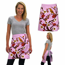 Spring Blossom Waist Apron / Cotton Twill / Machine Washable