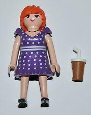 34735 Mujer vestido lunares helado playmobil