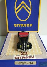 Citroen 22 CV Roadster 1934, black,  1:43 Norev – lim. Edition