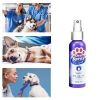 Pet Teeth Breath Cleaning Freshener Dog Cat Dental Spray Care Cleaner 60ml
